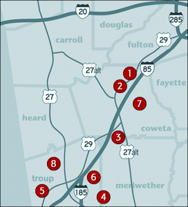 New Homes: Palmetto, LaGrange, Newnan, GA