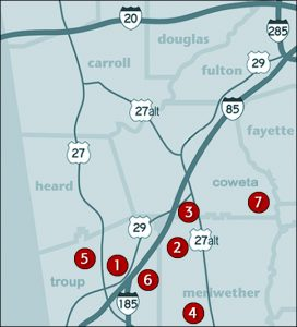 David Lindsey Homes Site Map